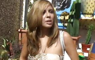 Latin blond sweetie Lorena Sanchez is to glad to handle and loves sex
