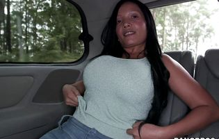 Casandra is ready for giant dicks in her tight cunt