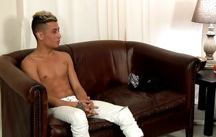 Big dick latin twink strips and strokes