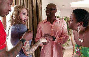 Juelz Ventura dreamed about being drilled with two black dicks