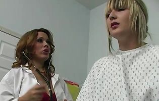 Patient proves he's healthy by fucking busty doctor Sienna West