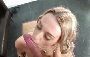 Outstanding chick Erica Fontes likes to feel a rock hard dinky in her mouth until it explodes