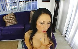 Passionate oriental Soolin Keher with big arse gets drilled in a close-up shot