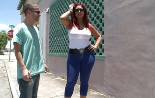 Astounding bosomed latin Helen Cielo got fucked very hard