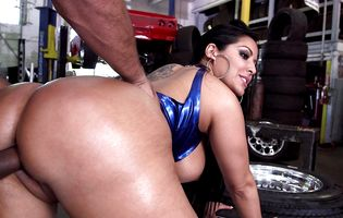 Usual latina ass pounding monster something is