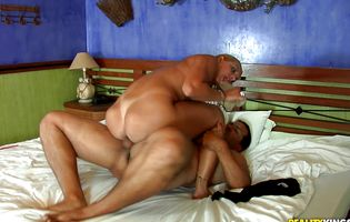 Heavenly latin blond chick Pryscila Brandao gets intensely drilled by a horny mate